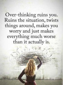 overthinking quotes #lifequotes
